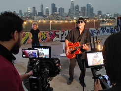 Los Angeles Music Video Shoot with Kirk