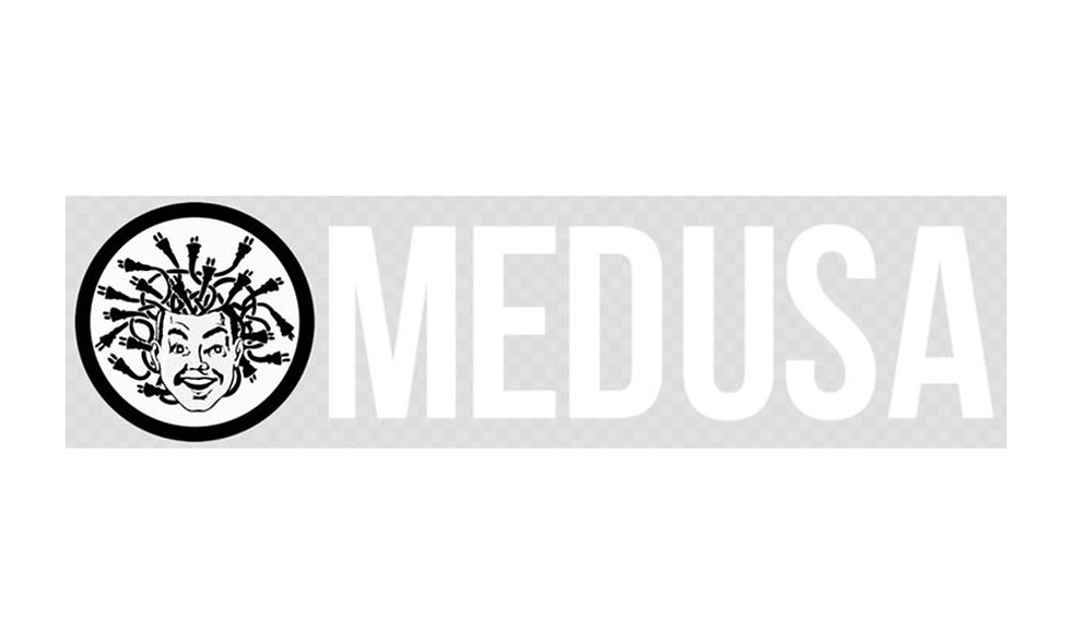 Clear Medusa Sticker