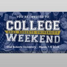 College Weekend Ticket