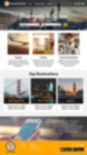 Travel Circle landing page
