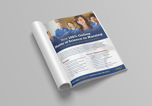 Nursing magazne ad
