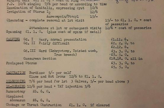 prescription document