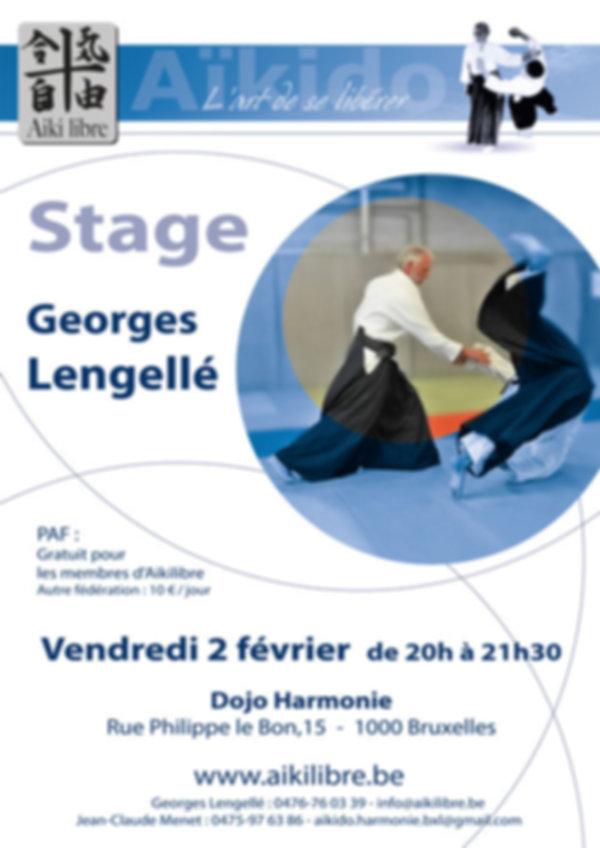 Stage Aikilibre Georges Lengellé