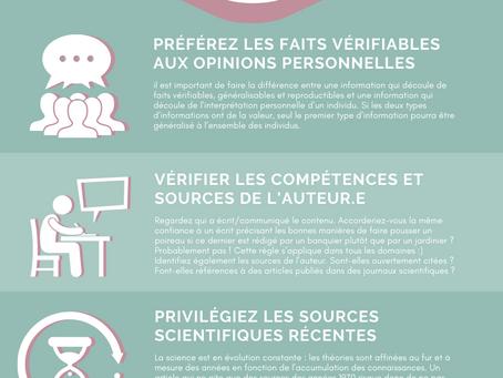 5 conseils de scientifiques pour vérifier la fiabilité d'une source d'information