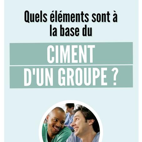 Qu'est-ce qui fait le ciment d'un groupe ?