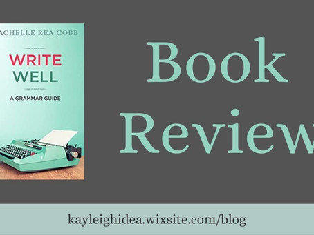 Write Well: A Grammar Guide Book Review