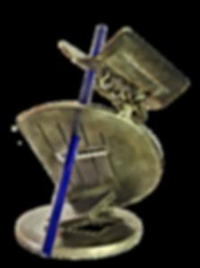 Sculptures acier inox