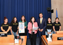 County Board of Supervisors recognition event