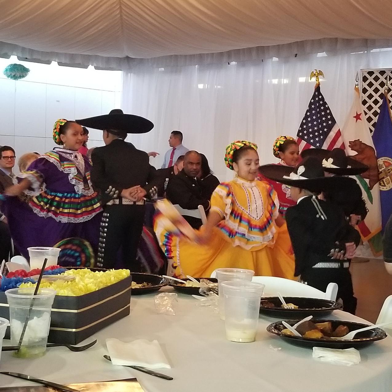 Hispanic Heritage Reception