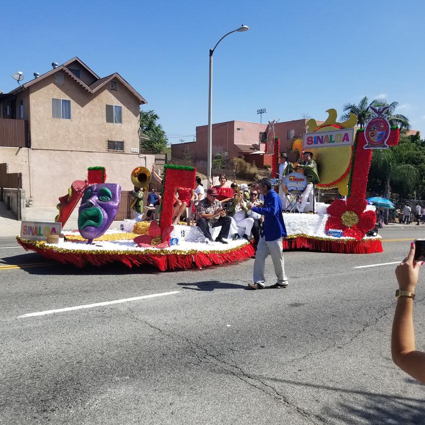 Sinaloa float
