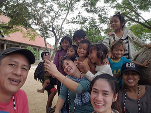 The feeling of Aloha is universal. Hanging out with orphans of the Khor people in the mountains of V
