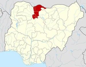 Location of Katsina State in Nigeria. (Map courtesy of Wikipedia)