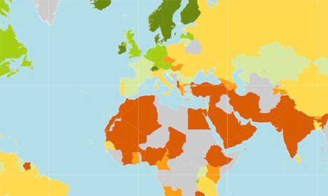 World Economic Forum gender gap index 2013