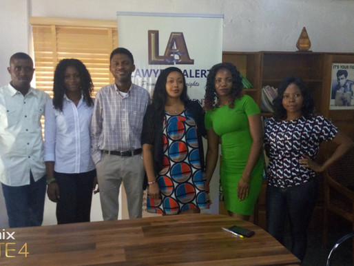 COURTESY VISIT BY THE HOPE SISTERS AGAINST HIV/AIDS, STIGMA AND DISCRIMINATION INITIATIVE
