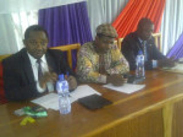 BENGONET Chair, Barr Justin Gbagi, Prof Okpeh Okpeh and NBA Chair T Igba