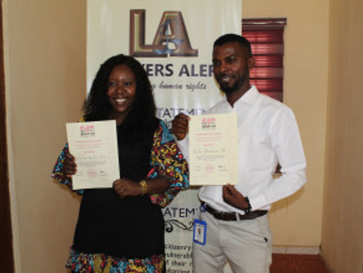Successful completion of course on criminalization of HIV transmission, exposure and non – dis