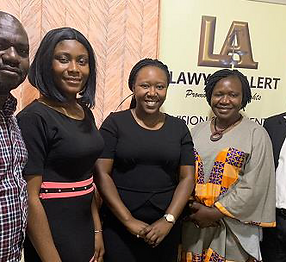 REPORT_OF_A_COURTESY_VISIT_TO_LAWYERS_ALERTS'_OFFICE_BY_THE_VOICE_OF_DISABILITY_INITIATI
