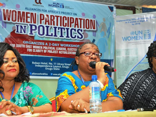 Women Participation in Politics: 2018 Primaries in Focus
