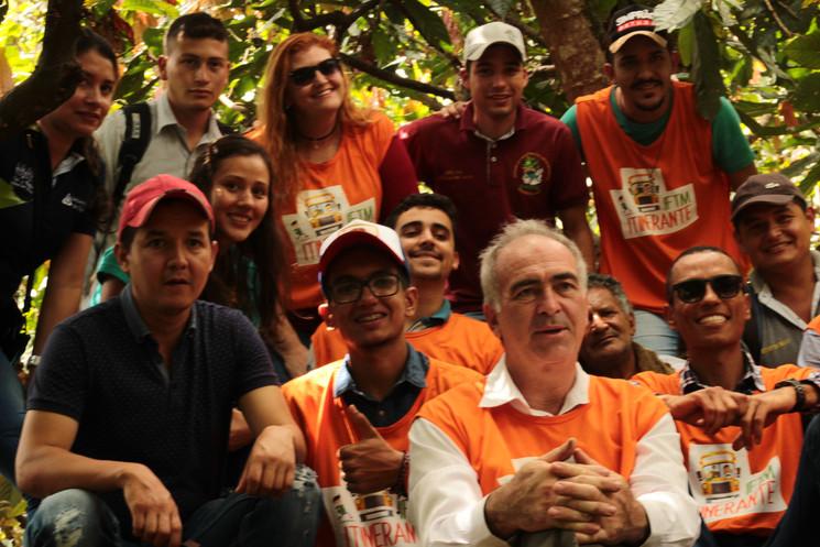 La Asociación de Productores Ecológicos de Planadas abre las puertas a Brasil.