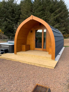 External with Hot Tub
