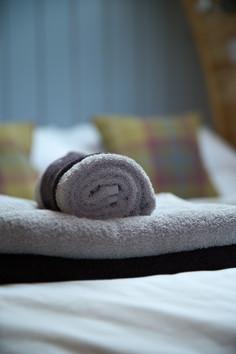 Hot tub pod towels