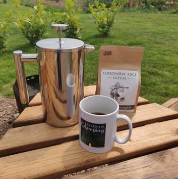 Coffee from Northern Edge Coffee