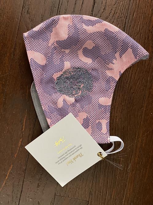 Branded Lavender/ Pink Camo Standard Face Mask