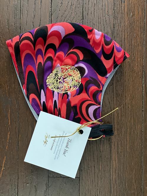 Branded Multicolor Swirl Standard Mask