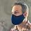 Thumbnail: Blue Floral Standard Mask