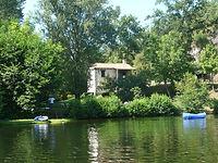 vakantiehuis aan de rivier de Lot in Zuid-Frankrijk