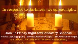 DC Solidarity Shabbat