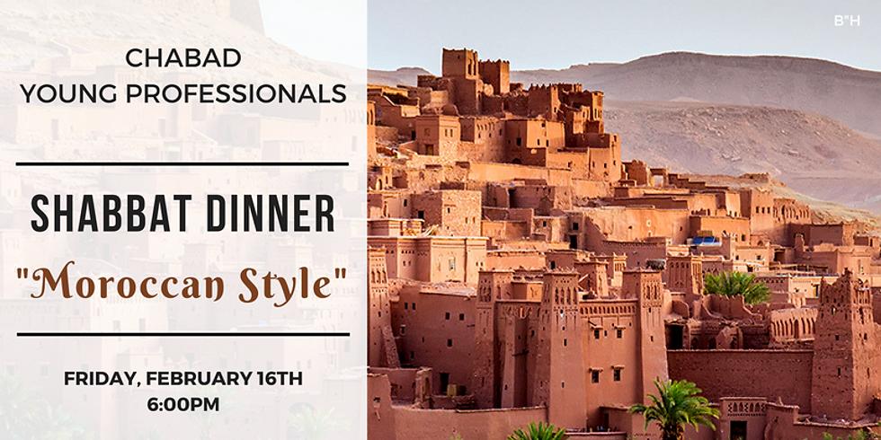 YP Shabbat Dinner - Moroccan Style!