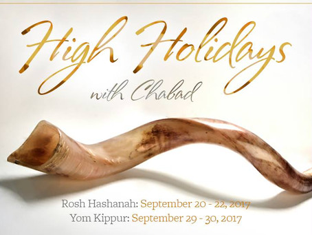 High Holiday Services and Dinner!