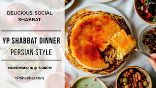 YP Shabbat Dinner - Persian Style!