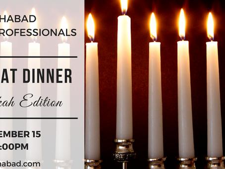 Chanukah YP Shabbat Dinner