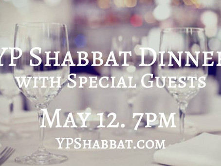 YP Shabbat Dinner with Special Guests