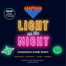 Ultimate Dreidel Spin-off & Game Night