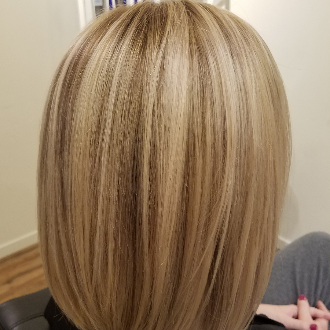 slices added to blonde