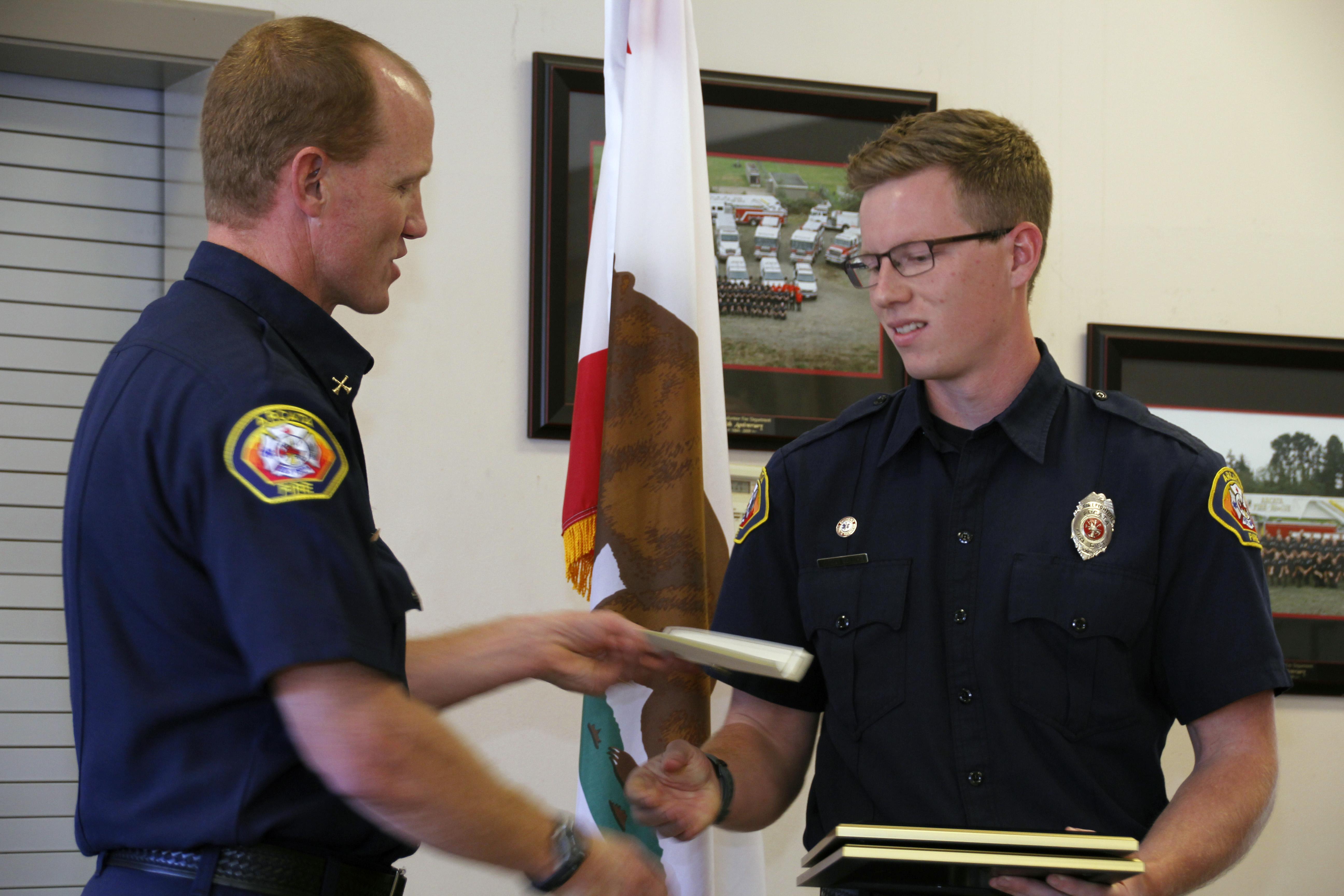 Firefighter Commendation