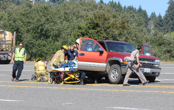 Traffic Accident on Hwy 299