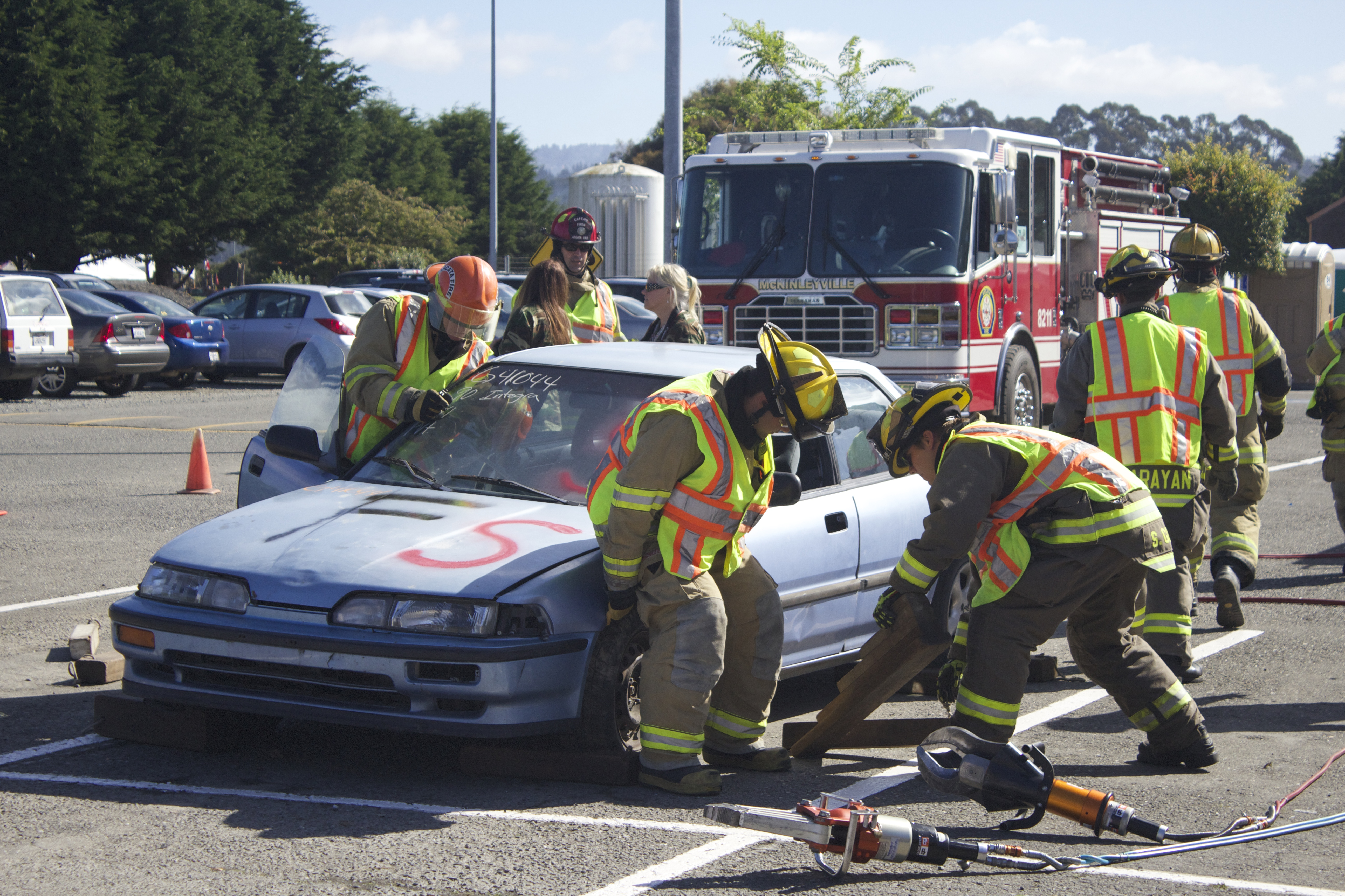 Extrication Demonstration