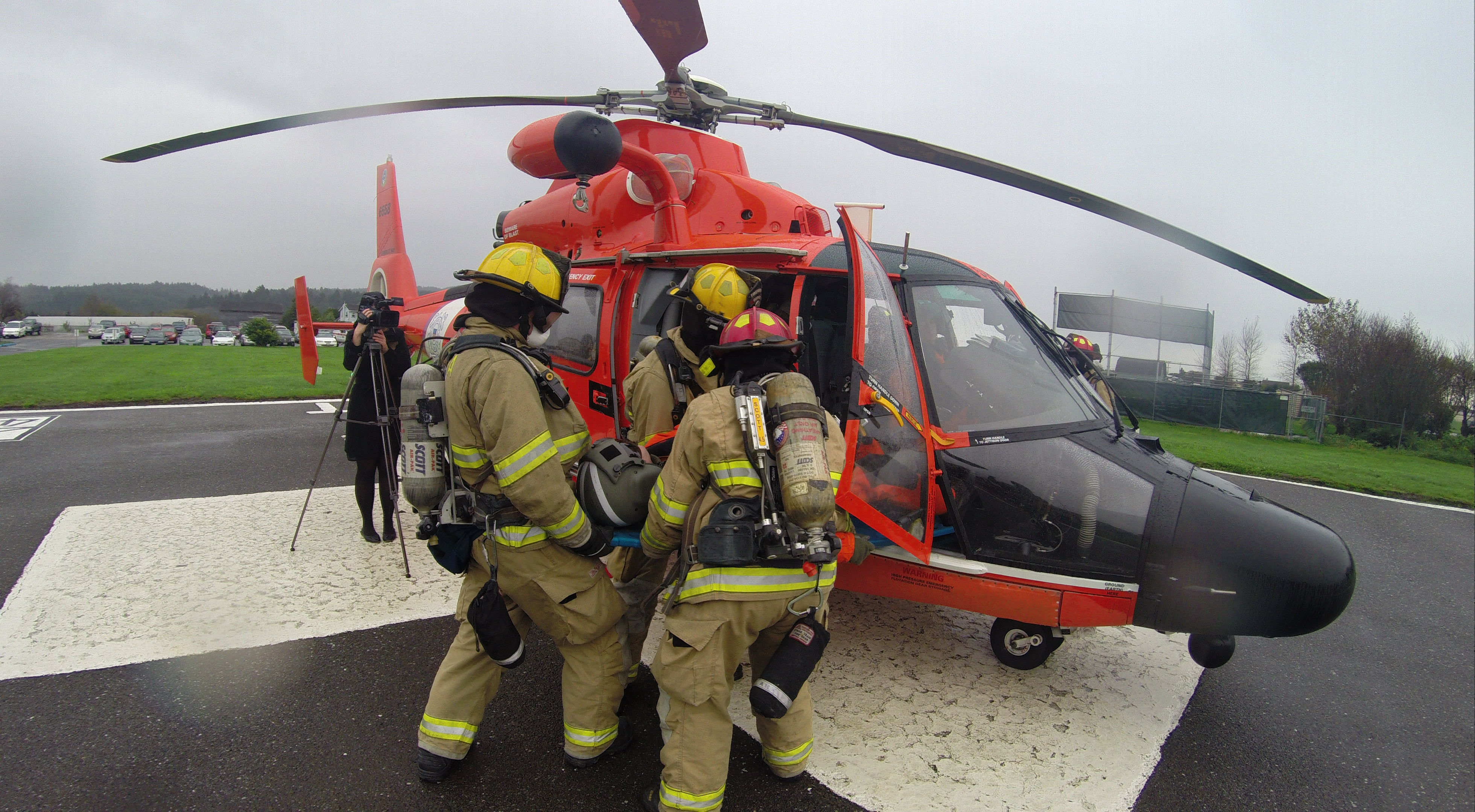 USCG Helicopter Drill