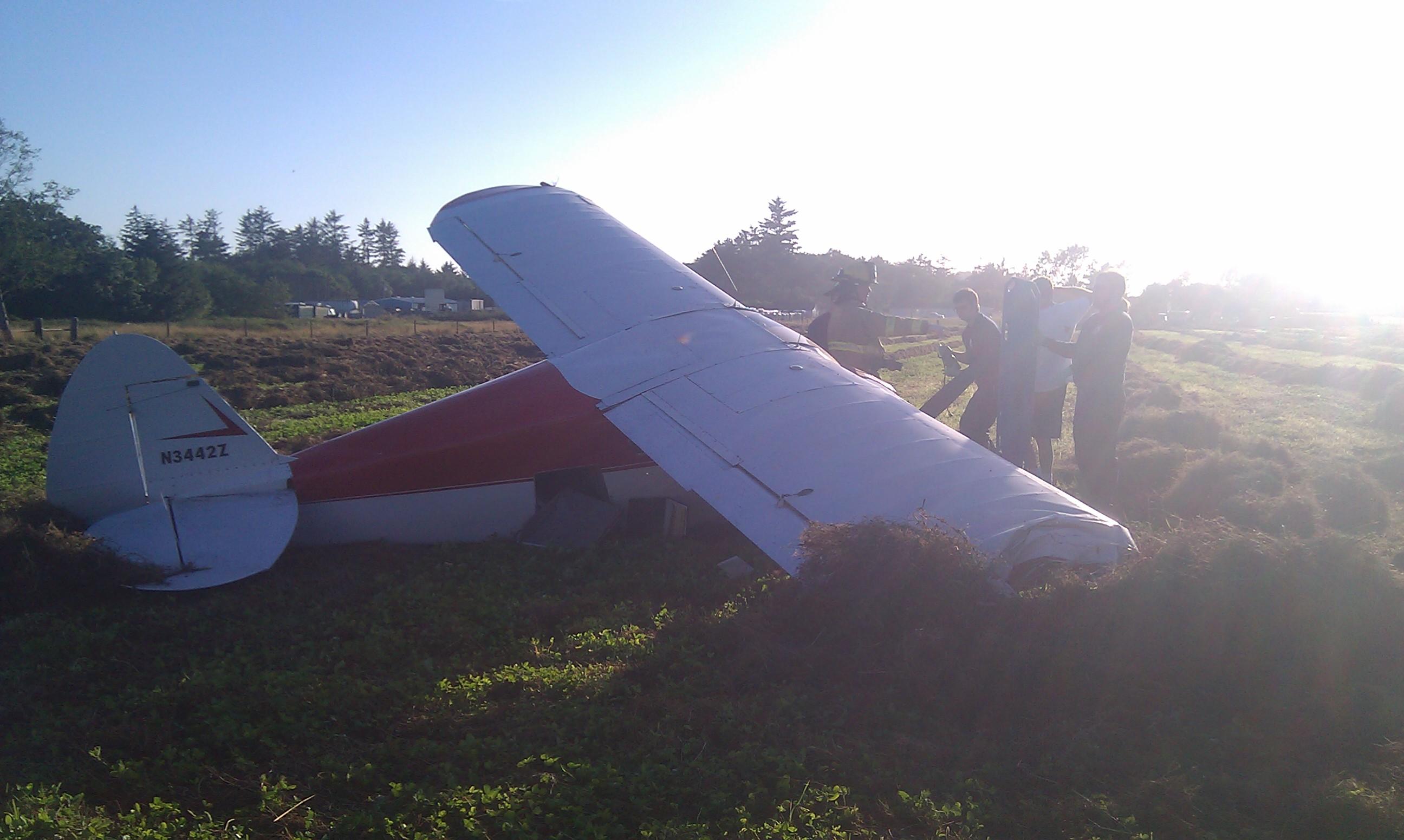 Plane Crash on Martin Road