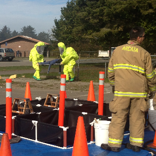 MCSD Hazardous Materials Drill