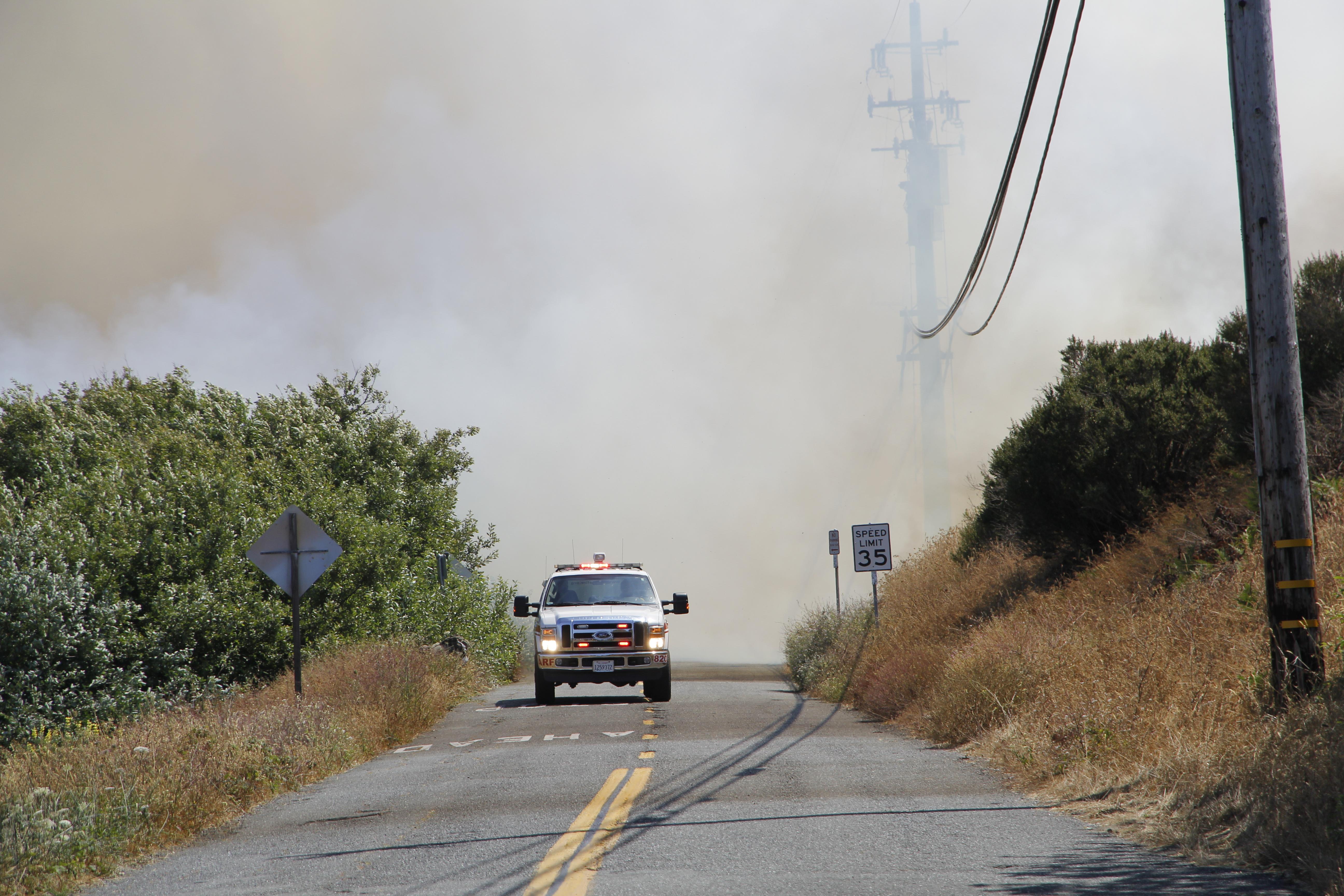 Vance Vegetation Fire