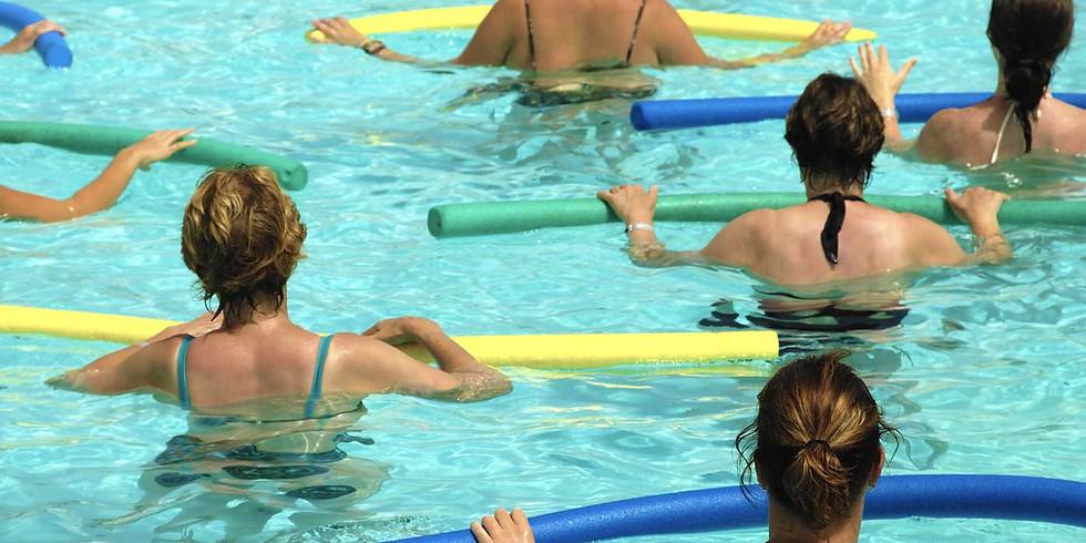 Aqua Yoga, Float, Coffee and Small Bites