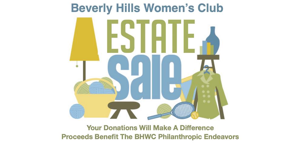 Beverly Hills Women's Club Annual Estate Sale
