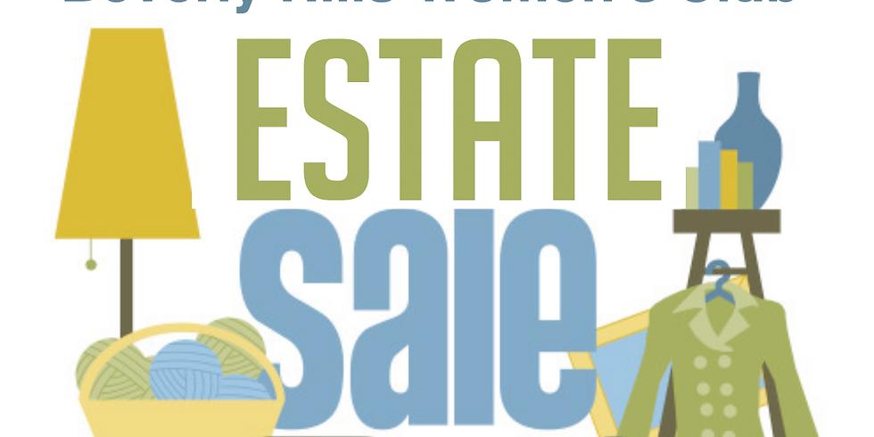 The Beverly Hills Women's Club Estate Sale
