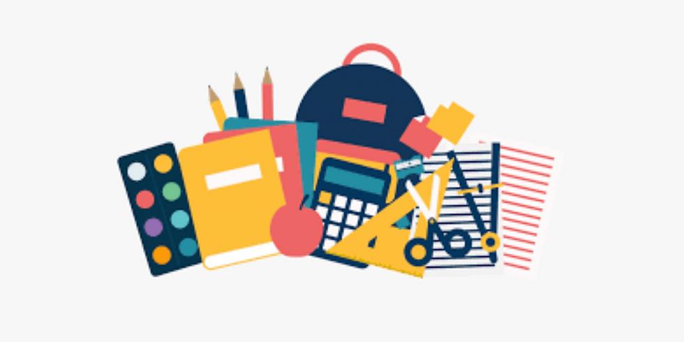 Back To School - Backpack School Supplies Drive