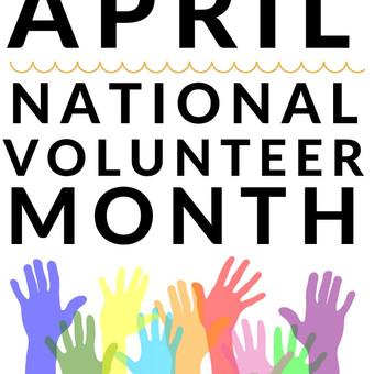 April is National Volunteer Month